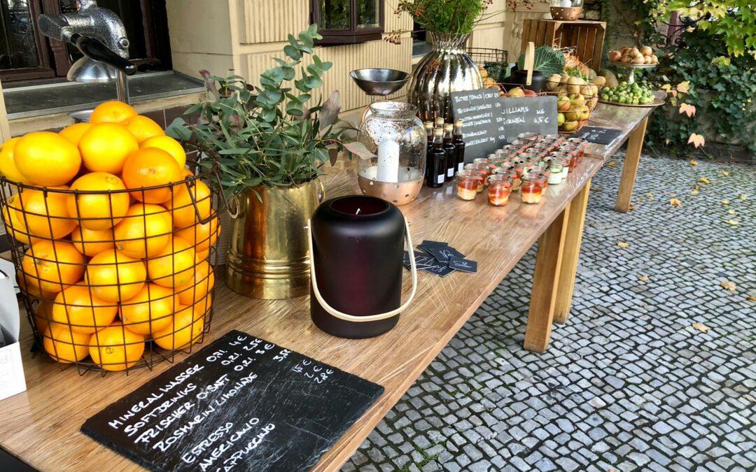 Bettina von Urban Pioneer hat den Markt der beiden Gastronomen Tim Hansen und Vitali Müller besucht