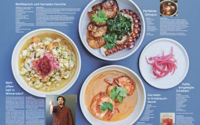 Markus Melo Ley kreiert Rezepte für die Leser des EssPress Magazins
